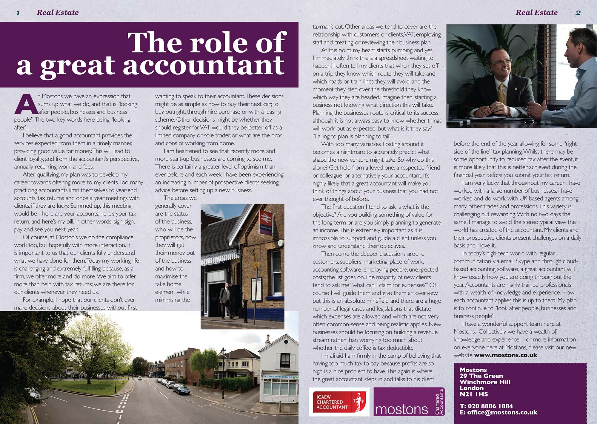 the role of an accountant in While working toward chartered status, provisions for training and study leave play an important role in job satisfaction, as well as salary and the atmosphere of .