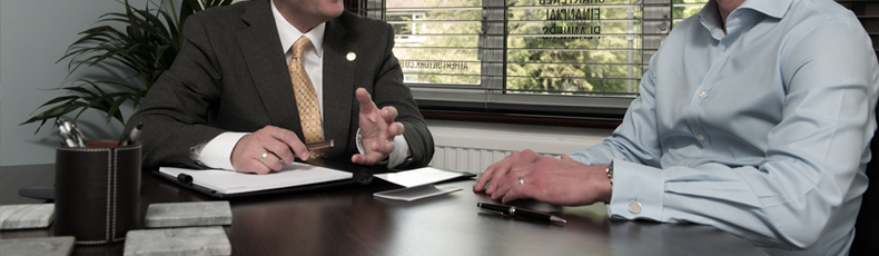 Business advice and planning between accountant and client